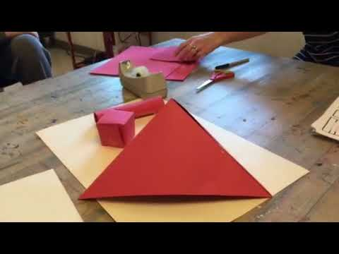 3 Dimensional Paper Sculpture Challenge