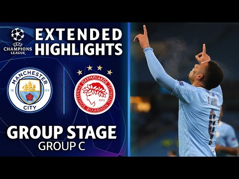 Manchester City vs. Olympiacos: Extended Highlights | UCL on CBS Sports