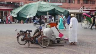 Maroc Marrakech Place Jemaa El Fna / Morocco Marrakech Place Jemaa El Fna