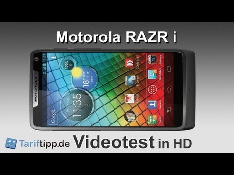 Motorola RAZR i | Test in HD (deutsch)