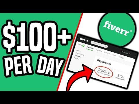 5 BEST Ways To Make Money on FIVERR With NO SKILLS (2019)