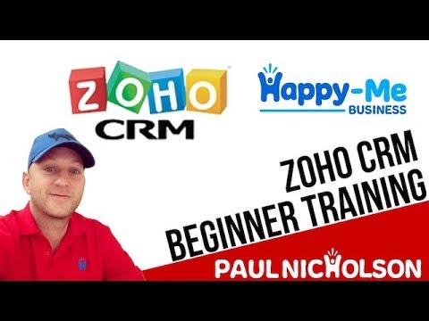 Zoho CRM beginner training tutorial introduction