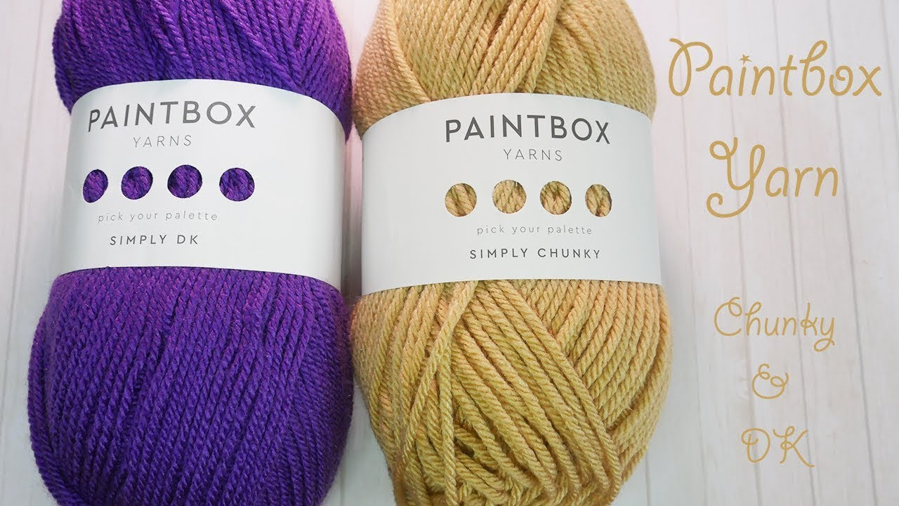 Lets Talk About Paintbox Simply Dk Chunky Youtube