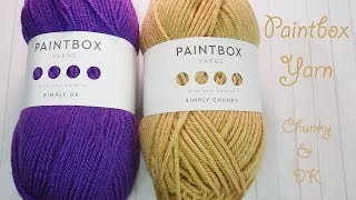 Let's talk about: Paintbox Simply DK & Chunky