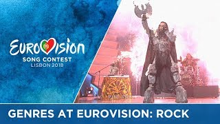 Genres at Eurovision Part III: Rock!