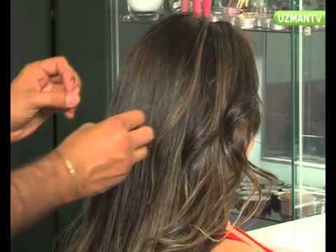 Uzun Saçlı Kadınlar için Nişan Saçı...