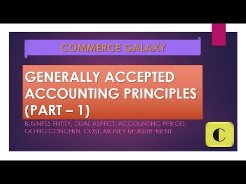CLASS 11: BASICS OF ACCOUNTING: G.A.A.P (PART 1)
