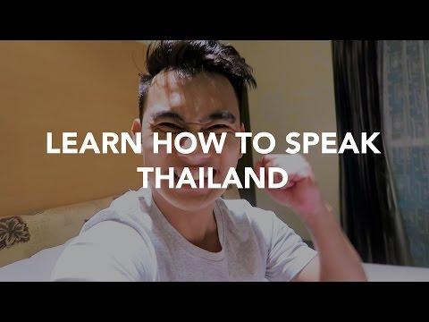 LEARN TO SPEAK THAILAND