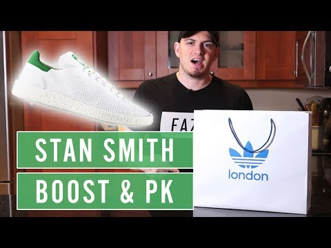 A BOOSTED ADIDAS CLASSIC??? - ADIDAS STAN SMITH PRIMEKNIT BOOST REVIEW