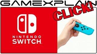 Nintendo Switch Joy-Con Demonstration (Hear the Click!)
