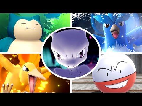 Pokémon Let's Go Pikachu & Eevee - All Bosses