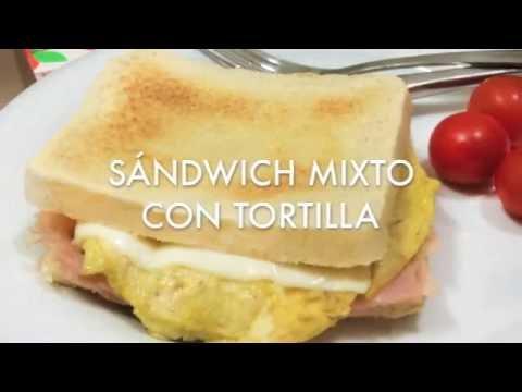 Divina La Cocina | Receta De Sandwich Mixto Con Tortilla Divina Cocina Youtube