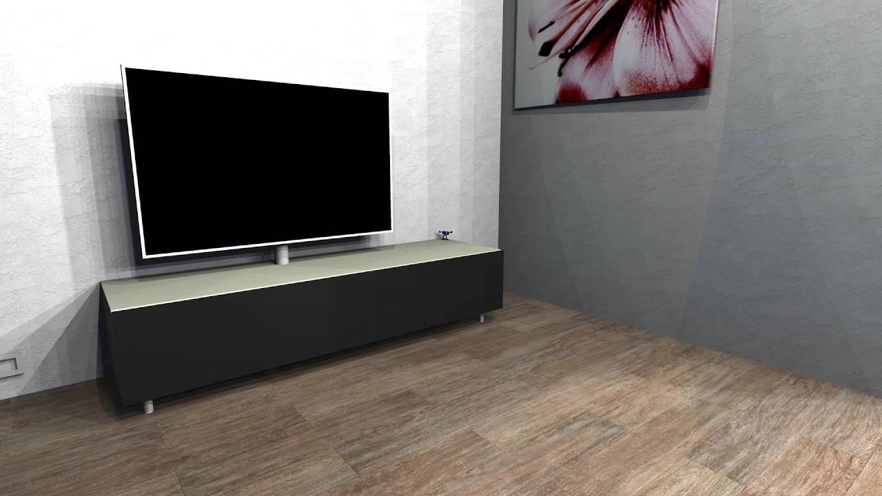 Tv Meubel Led.Ngmwp Scala Tv Meubel Youtube