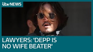 Johnny Depp 'is no wife beater', his lawyers tell High Court in Amber Heard libel case | ITV News