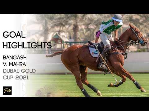 Bangash Polo vs IFZA Mahra | Best Goals Gold Cup 2021 | Dubai Polo Season