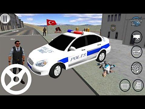 Hyundai Accent TÜRK Polis Arabası Oyunu // Polis Simulator - Android Gameplay FHD