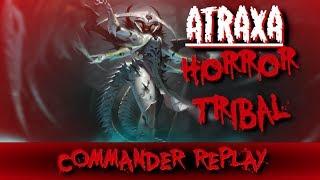 Atraxa Horror Tribal vs Korlash Zombies Morophon Skeletons Toshiro Serial Killer