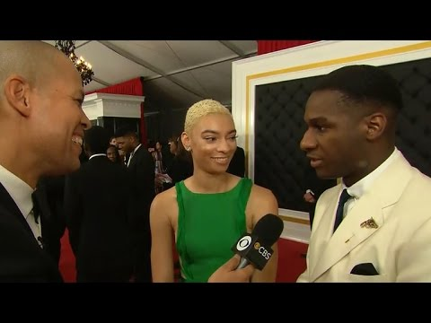 Leon Bridges interview at the Grammy Awards
