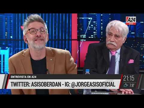 Novaresio mano a mano con Jorge Asís