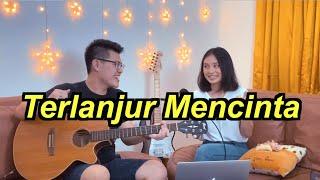 Download lagu Terlanjur Mencinta (Lyodra, Tiara, Ziva) - Live Cover ft. Vern Felicia #DigitarinJames