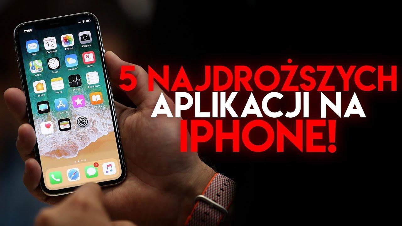 5 NAJDROŻSZYCH APLIKACJI NA IPHONE/IPAD!