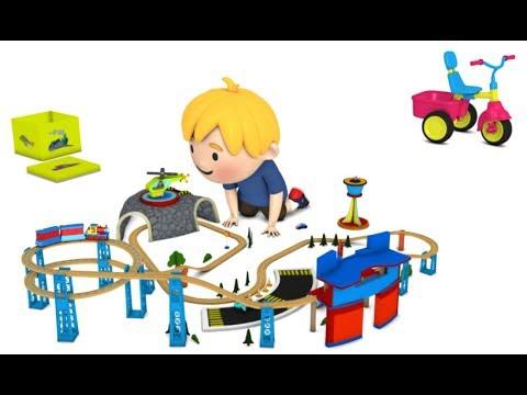 cartoon for kids - chu chu train - train cartoon for children - toy - cartoon children play
