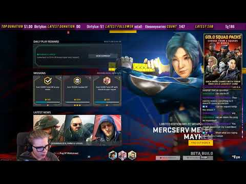 Dirty Bomb 🔥🔥Audience Chooses Music - HD Stream Vod