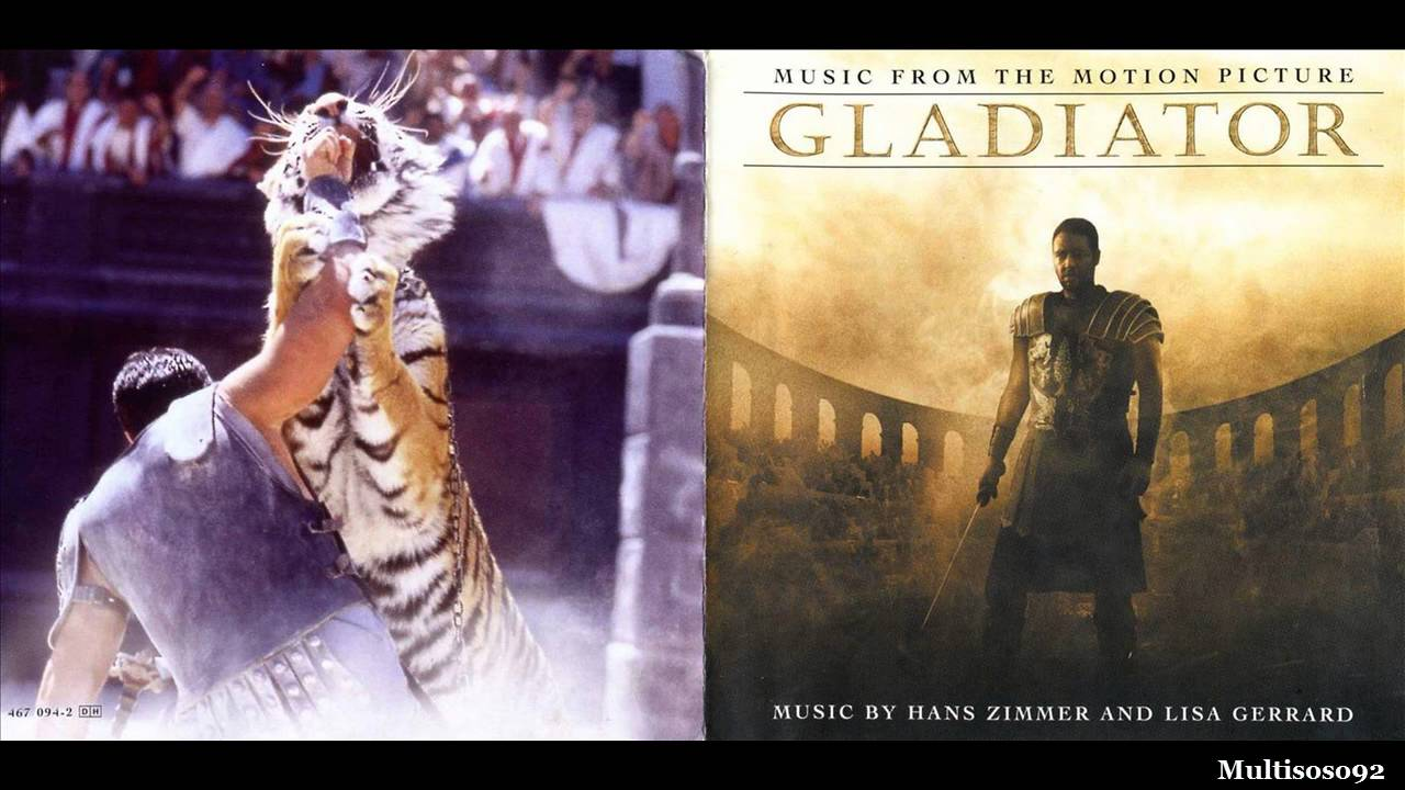 Hans zimmer lisa gerrard gladiator soundtrack honor for Gladiator hans zimmer