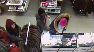 Surveillance: Fur Coat Stolen From Macy's In Brooklyn