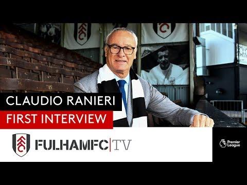 Claudio Ranieri's First Interview