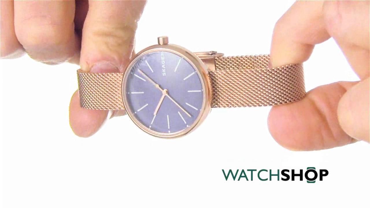 Skagen Ladies' Anita Watch (SKW2391) - YouTube