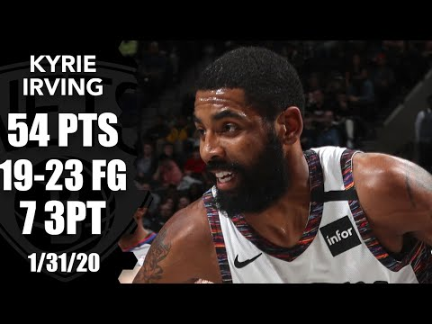 Kyrie Irving Goes Off For 54 Points, Starts 10-of-10 In Bulls Vs. Nets | 2019-20 NBA Highlights