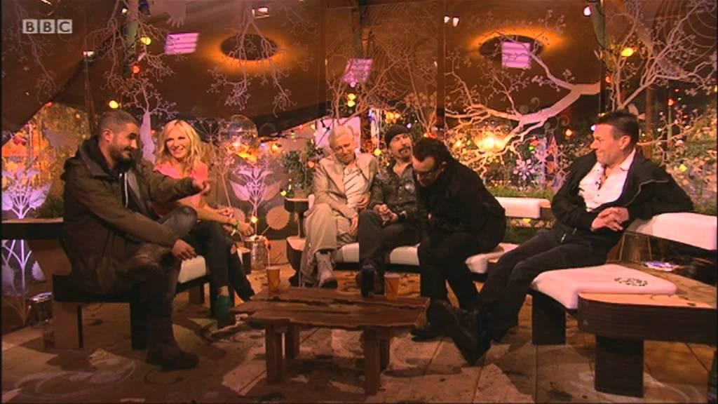 U2 talk Coldplay and Glastonbury on the BBC