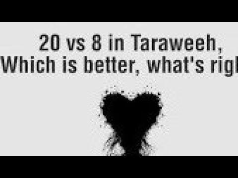Taraweeh 20 Rakats or 8? Clarified. Shaykh Faheem