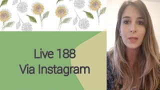 LIVE VIA INSTAGRAM - 10/07/2018