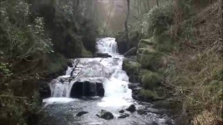 Watersmeet, Lynmouth,  North Devon, UK, March 2016...