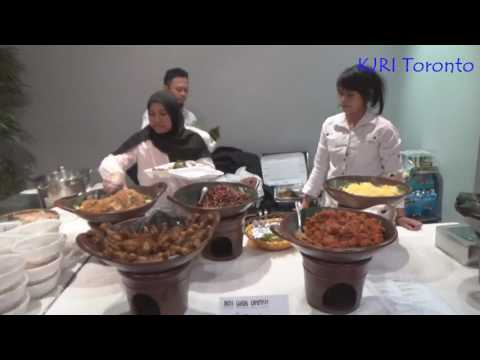 """KJRI Toronto: Promosi Kuliner """"Kedai Indonesia"""", 8 April 2017"""