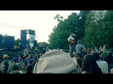 Peterborough Folk Fest   Campfire Sing Along   Dan Mangan