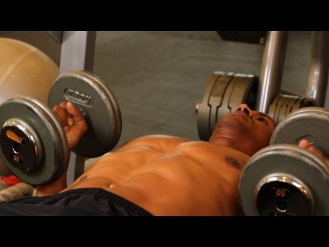 How to Do Palms-In Dumbbell Bench Press | Chest Workout