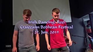Irish Dancing: Reel, Craiceann Bodhrán Festival 2019