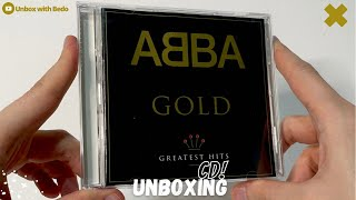"ABBA ""Gold: Greatest Hits"" CD UNBOXING"