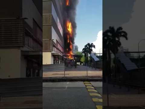 Fire @singapore