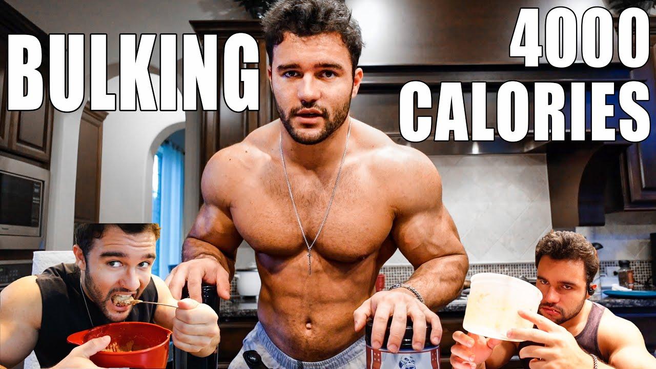 Download 4000 CALORIE FULL DAY OF EATING | CLEAN BULK