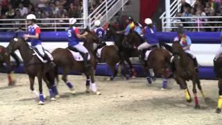 Extrait du match de Horse Ball : équipes féminines