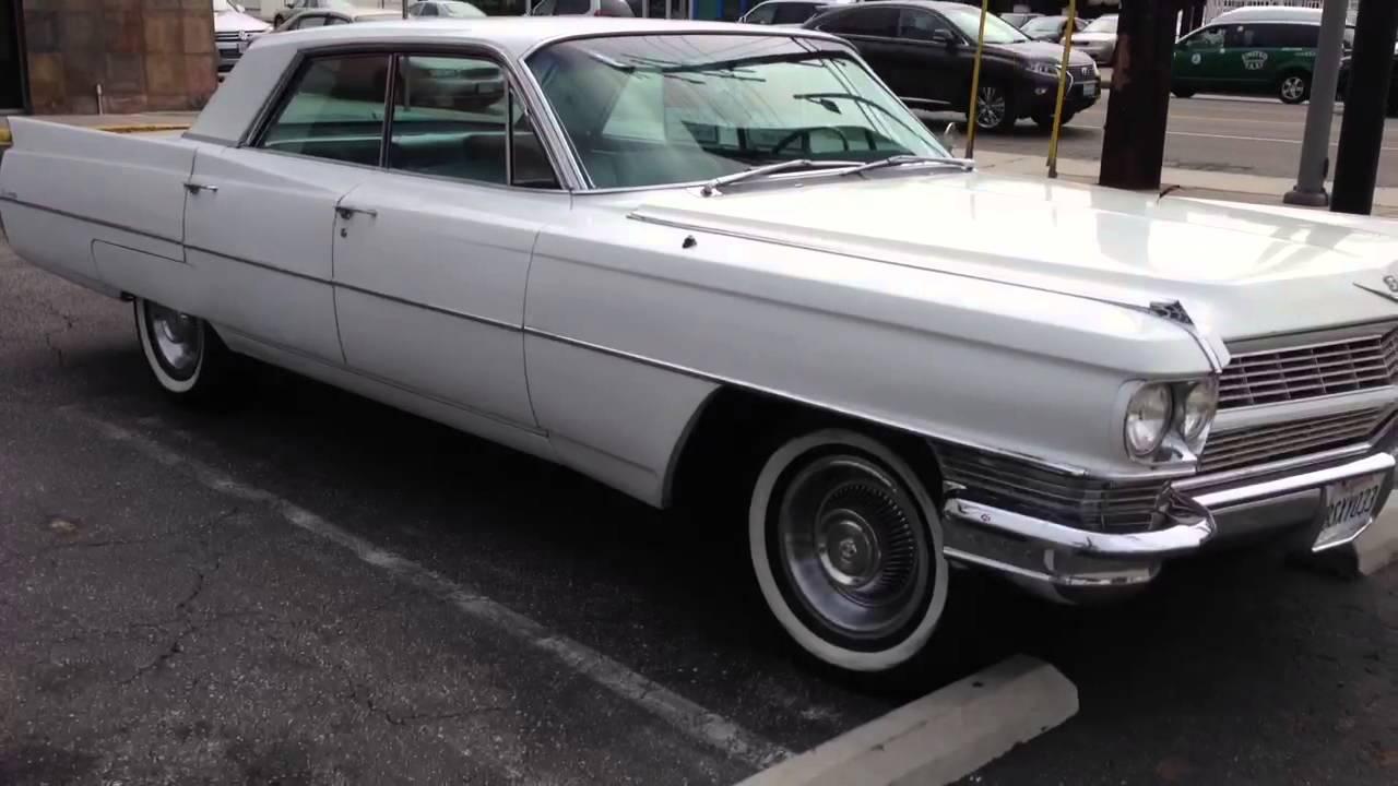 for sale 1964 cadillac sedan deville 4 door cruiser los. Black Bedroom Furniture Sets. Home Design Ideas