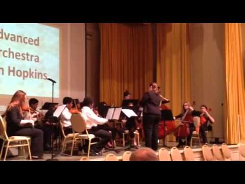 John Hopkins Middle School Orchestra -Themes From New World Symphony