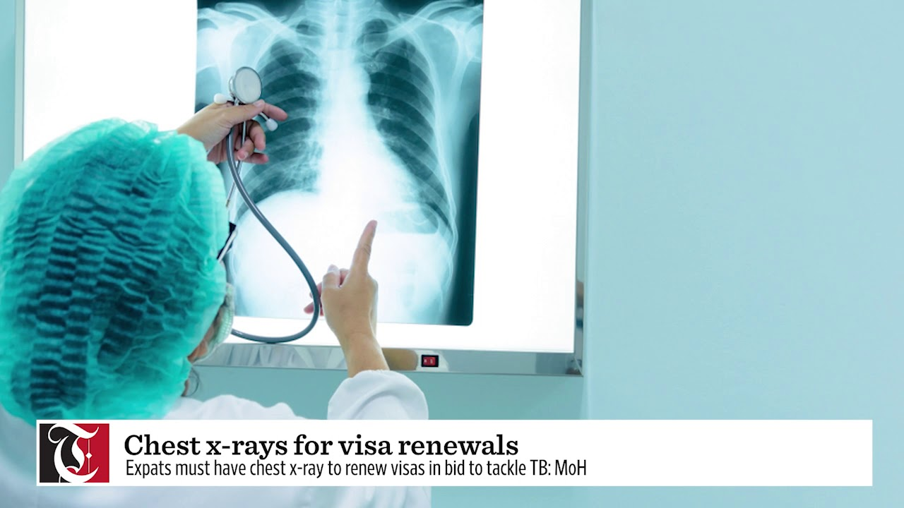 Chest x-rays for visa renewals
