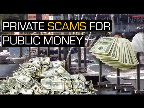 The Neoliberal Scam: Public Money for Private Playgrounds