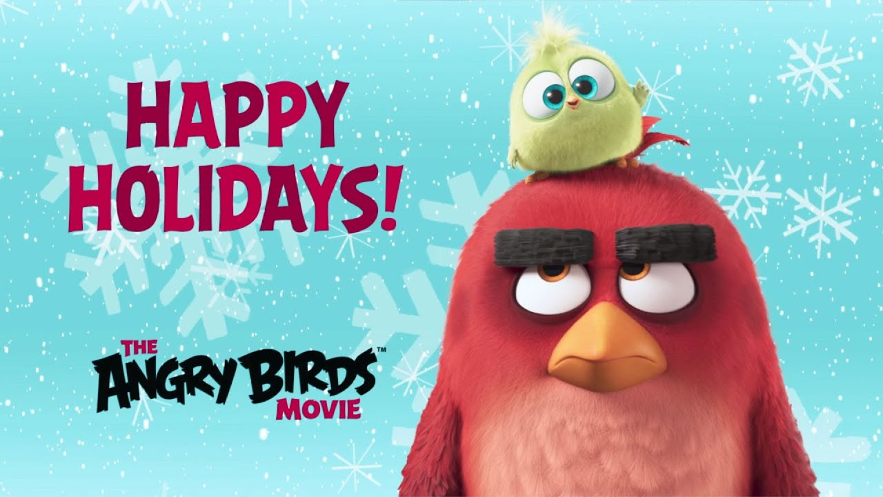 THE ANGRY BIRDS MOVIE - Hatchlings Season's Greetings - Official (2016 ...