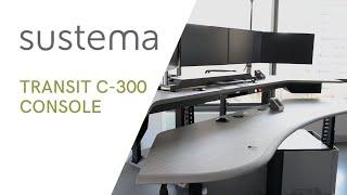 Control Room Console - Transit Series C-300 - Sustema